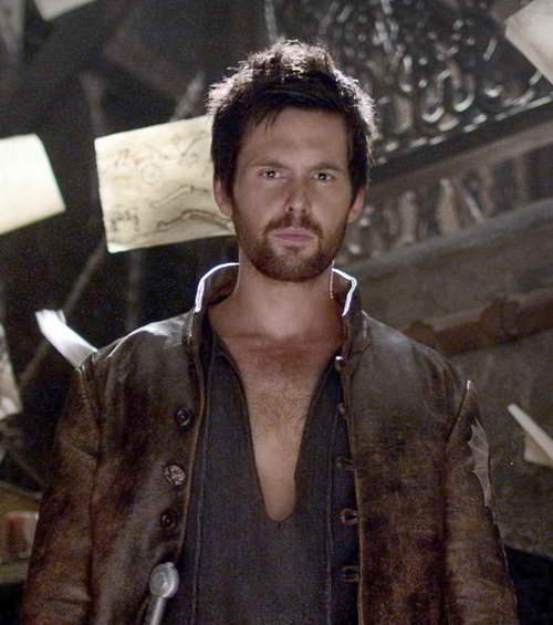 Leonardo da Vinci as played by Tom Riley on Starz