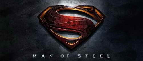 'Man of Steel' promo movie logo