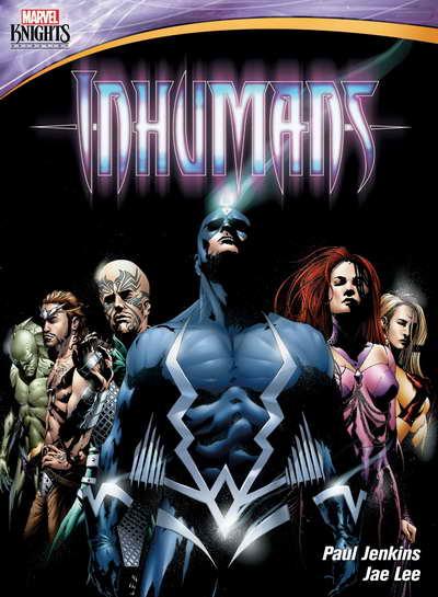 Marvel Knights Inhumans on dvd
