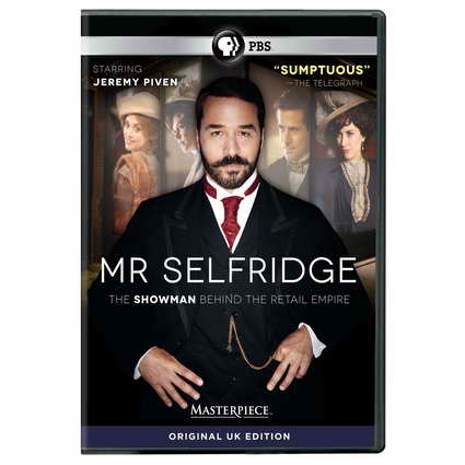 'Mr Selfridge' on dvd