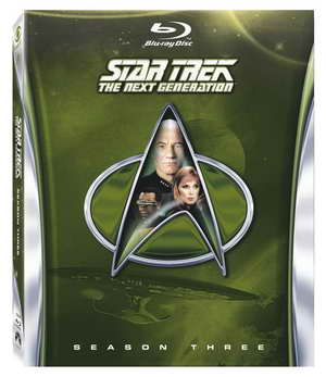 Star Trek The Next Generation - Season Three blu-ray