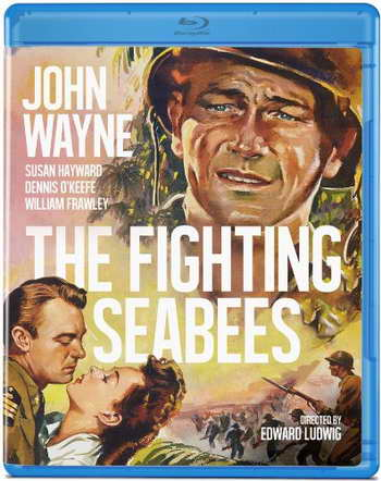 'The Fighting Seabees' on blu-ray