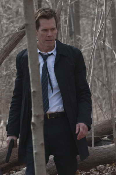 THE FOLLOWING: Ryan Hardy (Kevin Bacon) gets closer to Joe Carroll in the The Final Chapter; season finale episode of THE FOLLOWING