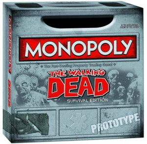 'The Walking Dead' Monopoly Game