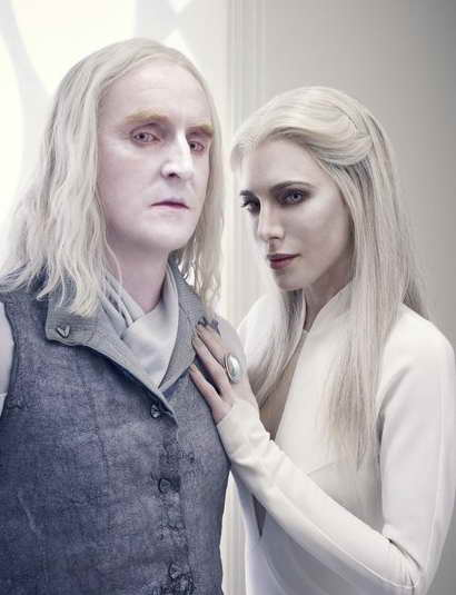 Tony Curran and Jaime Murray in Defiance