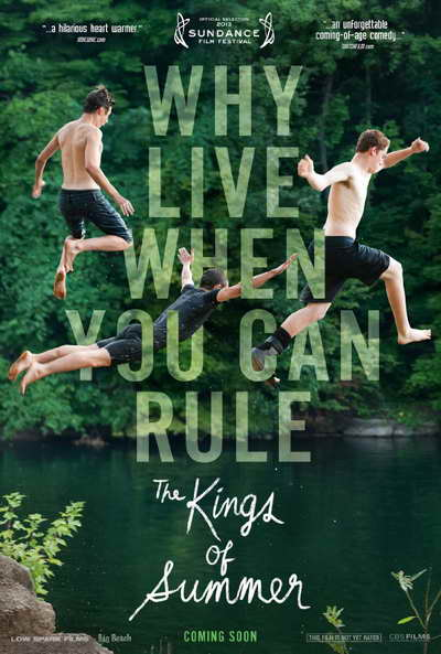 poster for The Kings of Summer