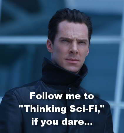 Benedict Cumberbatch in Star Trek Into Darkness, review cont'd at