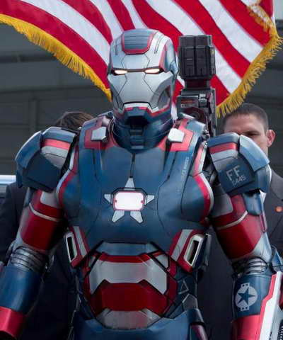 Iron Man 3 - Iron Patriot role in the movie