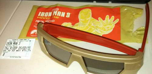 Iron Man 3 movie in 3D