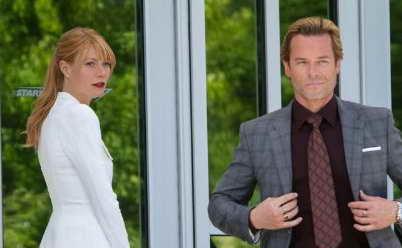 Iron Man Three - Gwyneth Paltrow and Guy Pearce