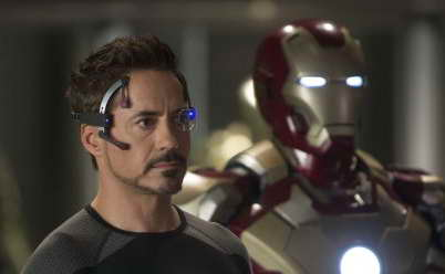 'Iron Man three' movie review - Robert Downey Jr as Tony Stark