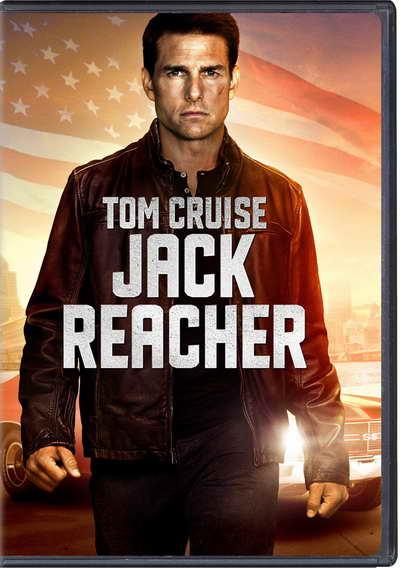 Jack Reacher on DVD