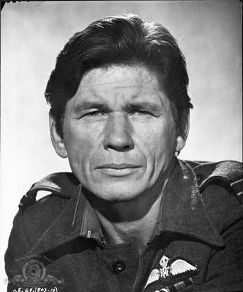 still of Charles Bronson in The Great Escape