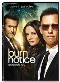 Burn Notice season six dvd p