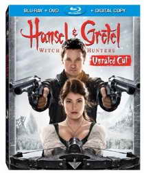 Hansel and Gretel Witch Hunters blu-ray p