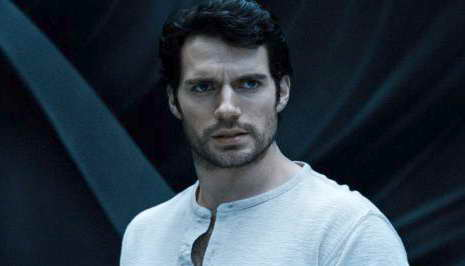 Henry Cavill as Kal El in Man of Steel