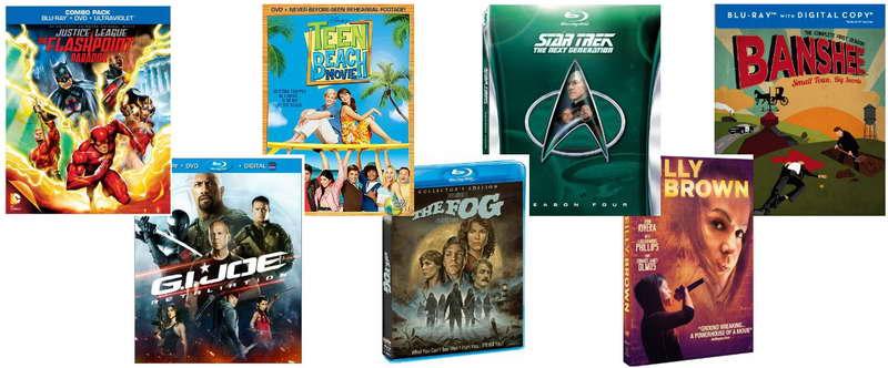 DVDs this week - Justice League, GI Joe, Star Trek