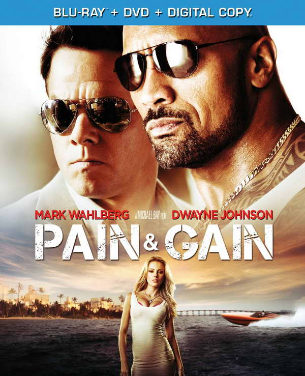 'Pain and Gain' on dvd and blu-ray