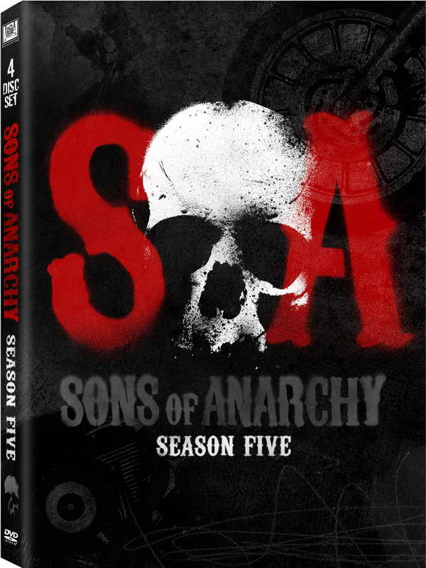 'Sons of Anarchy' season five on dvd