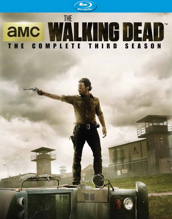 'The Walking Dead' season three on blu-ray