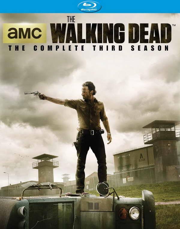'The Walking Dead' season three on blu-ray