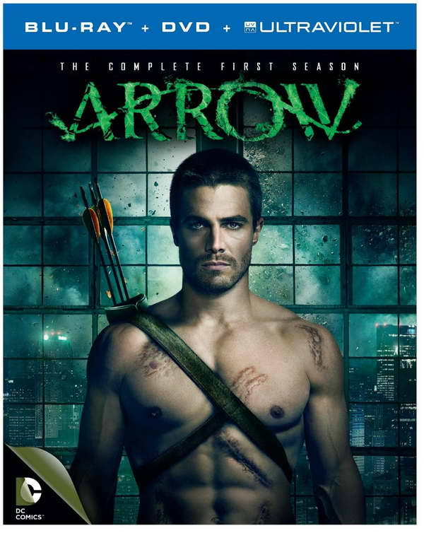 Arrow season 1 on blu-ray