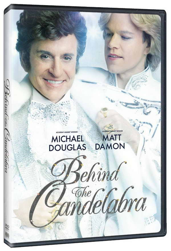 Behind the Candelabra on dvd