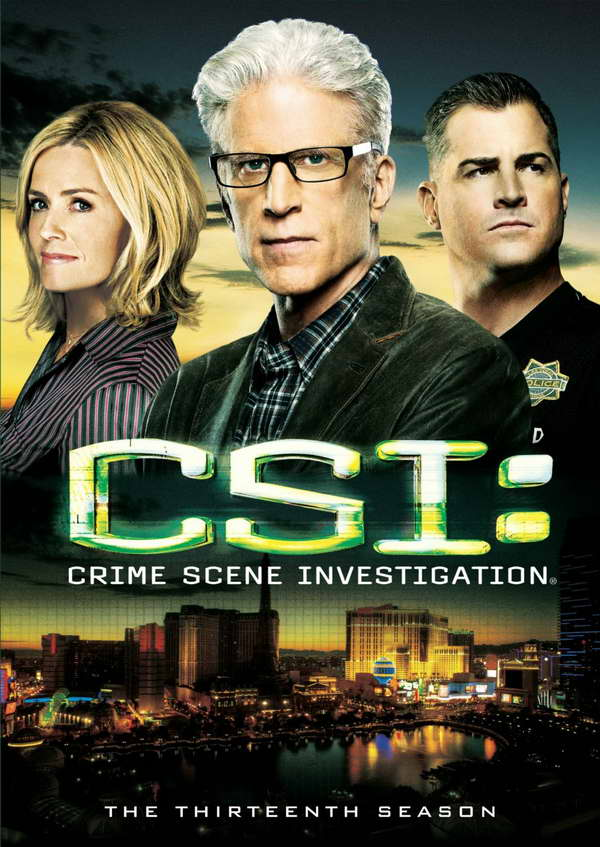 CSI season 13 on dvd
