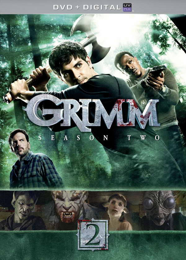 Grimm s2 on dvd