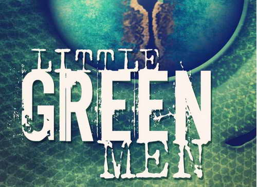 'Little Green Men' cover art - a book review