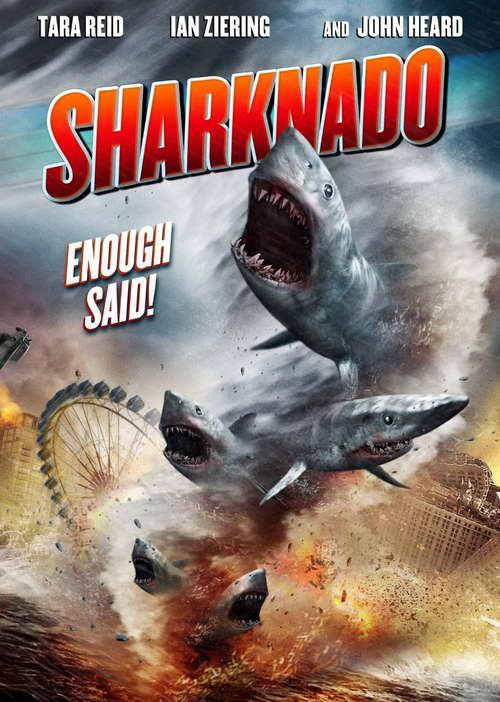 'Sharknado' on dvd