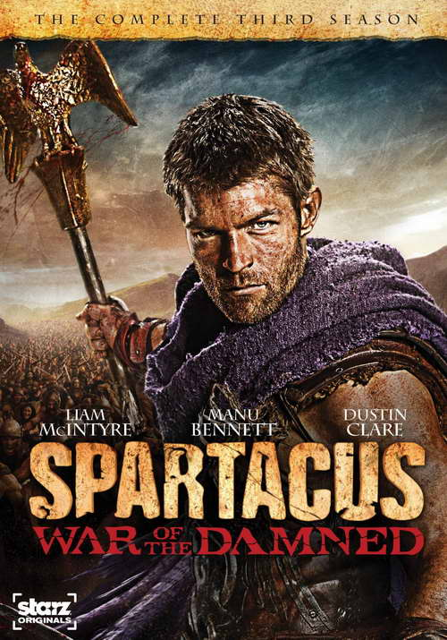 'Spartacus' season three (War of the Damned) on dvd