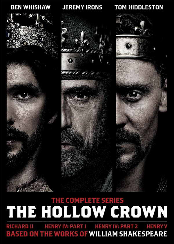 The Hollow Crown on dvd
