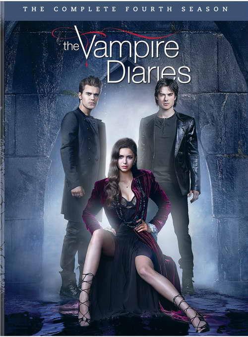 'The Vampire Diaries' season four on dvd