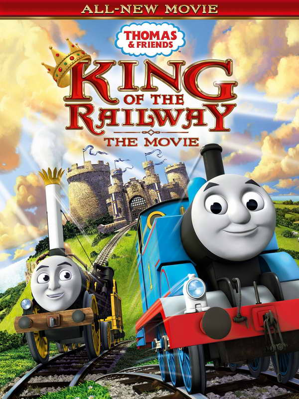 Thomas and Friends movie on dvd