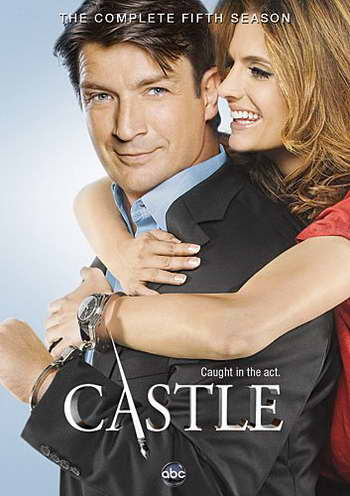 'castle' season 5 on dvd