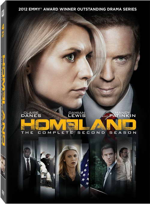 'homeland' season 2 on dvd