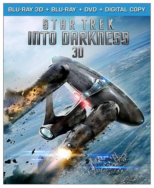 'star trek into darkness' on blu-ray, dvd