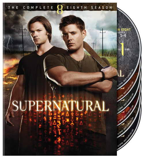 'supernatural' season 8 on dvd