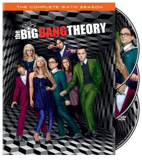 'the big bang theory' season 6 on dvd