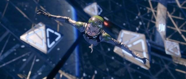 Asa Butterfield in Ender's Game battleroom (review)