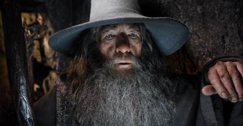 Ian McKellen in The Hobbit The Desolation of Smaug
