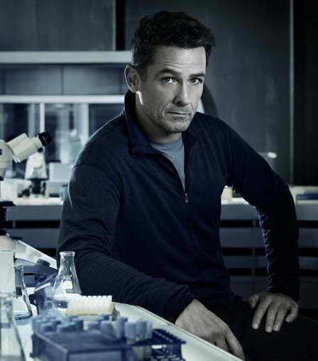 Billy Campbell in Helix on Syfy