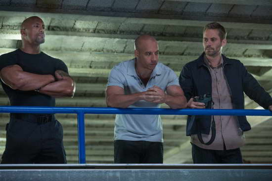 Fast & Furious 6 - Vin Diesel, Dwayne Johnson and Paul Walker