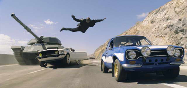 Fast & Furious 6 - crazy action