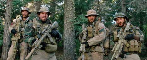 Mark Wahlberg, Taylor Kitsch, Ben Foster and Emile Hirsch in Lone Survivor