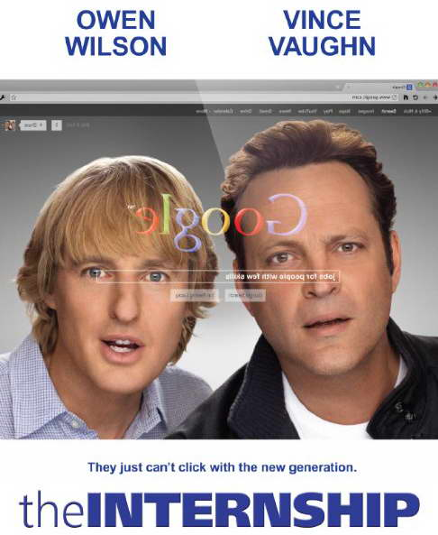The Internship with Vince Vaughn and Owen Wilson p