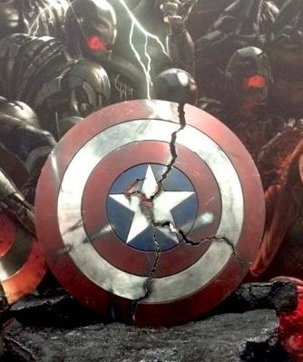 Avengers Age of Ultron Captain America broken shield