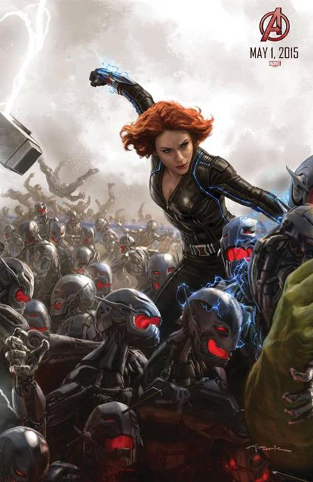 avengers age of ultron- BLACK WIDOW