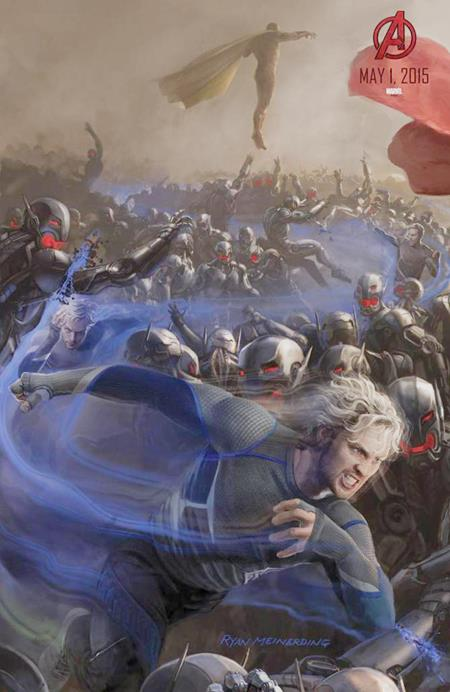 avengers age of ultron- QUICKSILVER and VISION